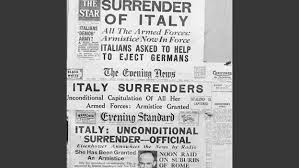 battles of monte cassino world war ii com  surrenders to the allies