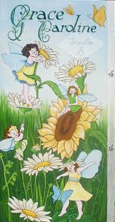 Dancing In The Daisies Growth Chart Kids Wall Decor Store