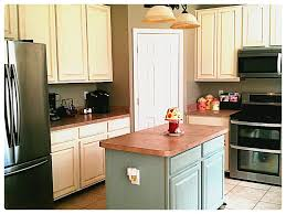 image of chalk paint cabinets distressed
