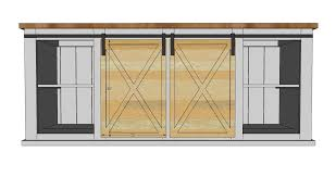 nikki built the doors shown with 1 2 plywood with smaller strips nailed on top but you can use a variety of diffe methods to build the doors love the