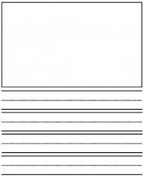journal paper template kindergarten writing activities sight words reading writing