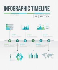 Infographic Timeline Template Vector Eps Ai Illustrator Best