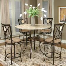 Furniture Metal Counter Height Bar Stools With Round Tall Round