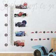 Disney Cars Growth Chart Wall Sticker Cars 2 Growth Chart Wall Decal