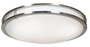 Portfolio 20 23 In W Brushed Nickel Led Flush Mount Light Solero 1 Light Flush Mount Products Lighting Outdoor