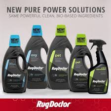 introducing the rug doctor pure power line
