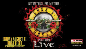 Guns N Roses Winston Salem Seating Chart Upcoming Events Guns N Roses Not In This Lifetime Tour