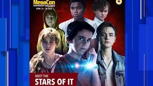 <b>We all float</b> down here: 'IT' stars head to MegaCon Orlando