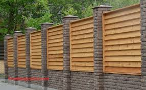 Horizontal Wood Fence Panels Lovely Louvered Wood Fence Panels
