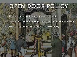 Open Door Policy Open Door Policy Wikipedia Nongzico