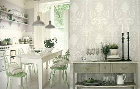 Modern Kitchen Wallpaper Modern Kitchen Design Red Glossy Cabinets Black White Pattern