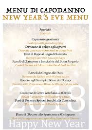 New Year Menu Special Christmas And New Years Menus Hotel Castor