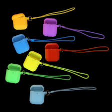 Fashion Luminous Lighting <b>Silicone</b> Case Anti-scratch <b>Headphone</b> ...