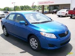 2010 Blue Streak Metallic Toyota Corolla LE #28936925   GTCarLot ...