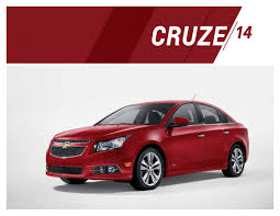 GM 2014 Chevrolet Cruze Sales Brochure