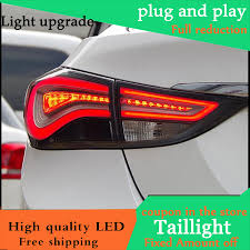 Hyundai Elantra 2012 Brake Light Us 292 4 14 Off Car Styling Case For Hyundai Elantra 2012 2015 Taillights Led Tail Light Led Rear Lamp Drl Brake Reversing Signal Automobile In Car