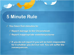 Chromebook Classroom Rules Ppt Video Online Download