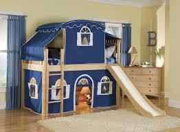 bunk bed with slide and desk. Children Bunk Bed With Slide: Kids Beds With Stairs And Desk Optional  Tent Tower Slide Loft \u2013 WarmOjo.com Bunk Bed Slide And Desk Pinterest