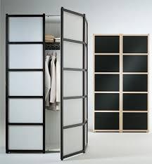 Double Swing Doors Fascinating Frozen Glass Double Swing Door Ikea Wardrobe For