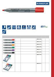 Staedtler Catalogue 2017 Stationery