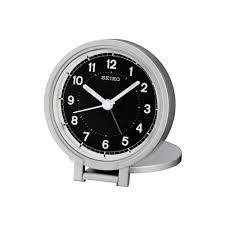 seiko clock travel alarm clock qht011a
