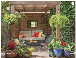 patio container plants. garden design with patio, seating area, potted plants, mirror patio/backyard patio container plants