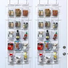 12 life changing kitchen organization s simplehouseware crystal clear over the door hanging pantry organizer