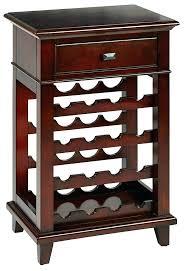 wine storage bins rack office star solid wood and veneer cork containers