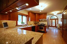 Granite For Kitchens Awesome Brown Granite Countertop Contemporary Kitchen Countertops