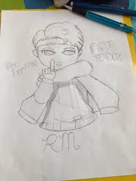 Large collections of hd transparent bts png images for free download. Bts Chibi Rm Fanart By Jeonjisoo197 On Deviantart