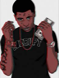 Wallpaper Nba Youngboy Cartoon