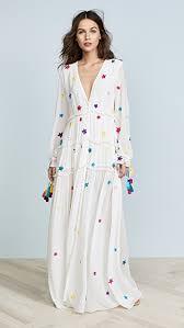 Rococo Sand Size Chart Stellar Long Dress
