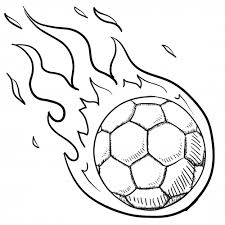 Small Picture Soccer Ball In Flames For Kids Soccer ball and Kids soccer