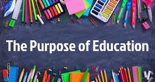The purpose of education - STEM Training Camp