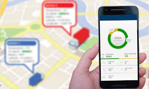 Vehicle Tracking Mobile App With Graphical Charts And Trip