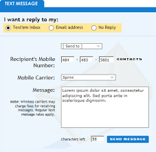 sending text message from email 10 sites to send free text messages to cell phones sms