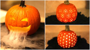 Pumpkin Carving Diy Pumpkin Carvings Cute Halloween Ideas Youtube