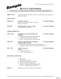 Free Work Resume Social Work Resume Sample Best Of Worker Example 100a Hospice 82