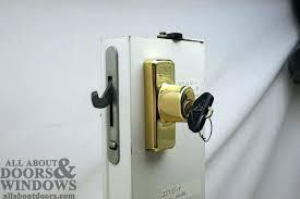 sliding door keyed locks sliding glass door lock with key sliding door lockset with key sliding door keyed locks