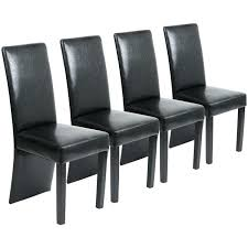 black leather dining chairs black faux leather dining chair black leather dining chairs set of 4