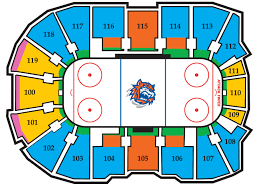 Bridgeport Webster Arena Seating Chart Sound Tigers Seating Chart Elcho Table