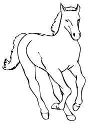 Realistic Horse Jumping Coloring Pages Learning Years Animal