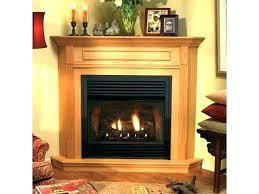 gas vent free fireplace s small freestanding direct vent gas fireplace