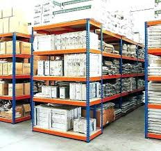 edsal steel freestanding shelving unit industrial units used