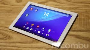 sony z4 tablet. our allegiances lie with the new z4 tablet sony