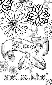Kind Words Coloring Pages Coloring Pages