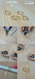 easy craft projects to do. easy craft projects to sell | diy heart ring by ready at http:/ do