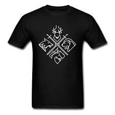 черные татуировки мужчины футболка трон дома символ футболка волк лось тигр лев 3d