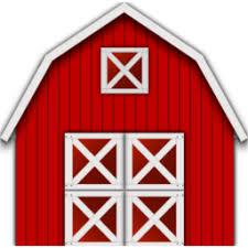red barn clip art transparent. 256x256 Pixels, Smooth Edges Red Barn Clip Art Transparent P