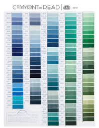 Printable Dmc Embroidery Floss Color Chart 2019 Dmc Color Chart Modern Cross Stitch